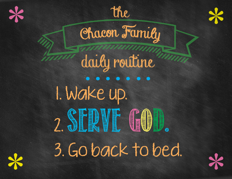 Chacondailyroutine